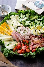 CHEFS SALAD WITH JULIENNE OF TURKEY , HAM AND SWISS CHEESE RECIPE
