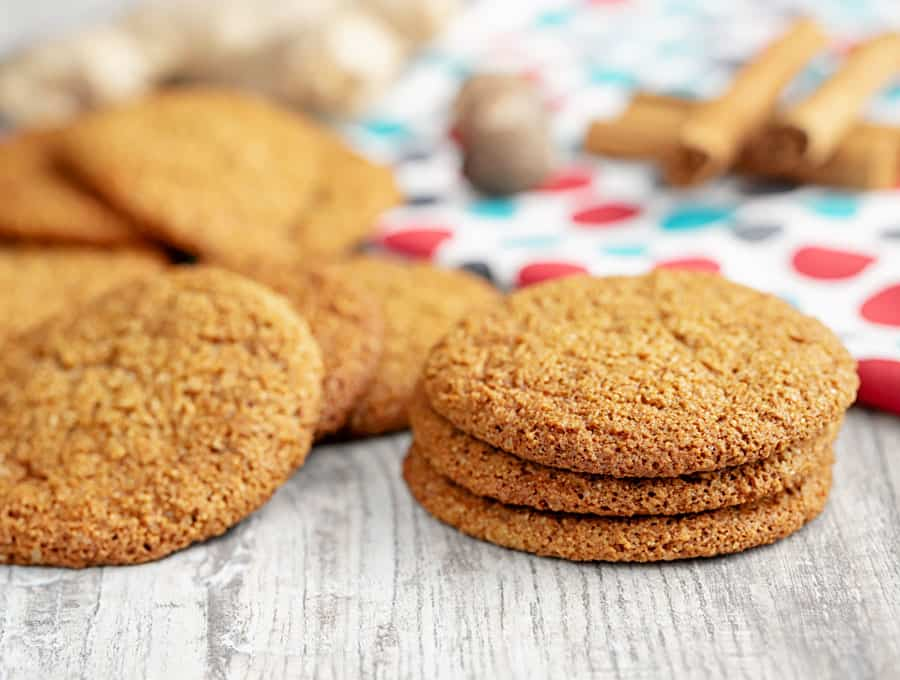 KETO GINGER COOKIE 1