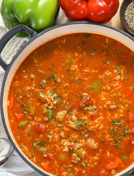 stuffed pepper soup 5